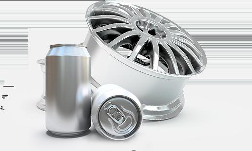 Aluminium production proces